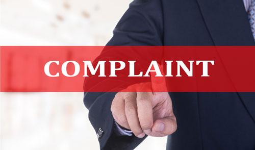 handling customer complaint graphic