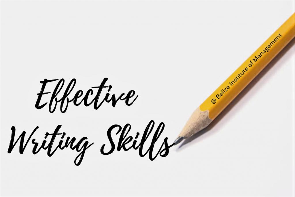 Effective Writing Skills - BimBelize.org