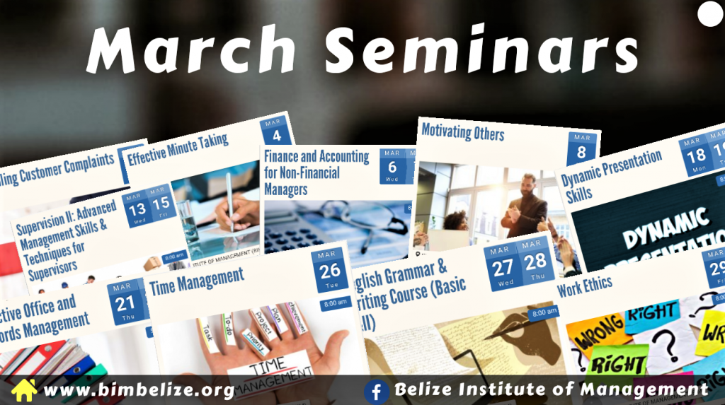 March Seminars Graphic